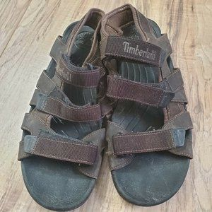 Timberland Men's Leather Sandals Sz 12